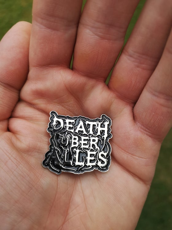 "Image of Metal Pin ""Death Über Alles"""