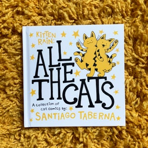 All The Cats, Hardcover Book!