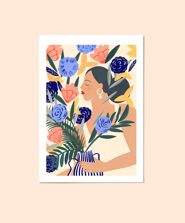Image of Le Bouquet - A4