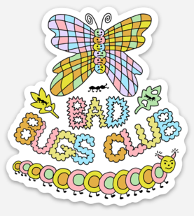 Image of Bad Bugs Club Sticker
