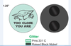 TOO CLOSE YOU ARE (PREORDER - MARCH)