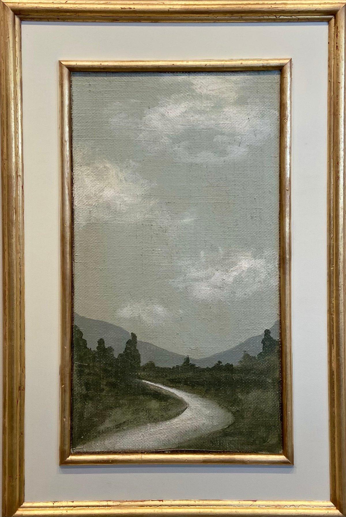 Image of TUSCAN Landscape CREAM 20x30