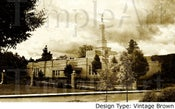 Image of Medford Oregon LDS Mormon Temple Art 001 - Personalized LDS Temple Art