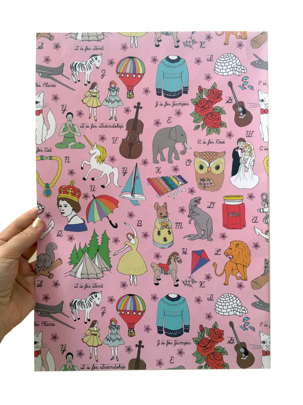 ABC Wrapping Paper