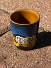 Glazed MusicFest shot glass