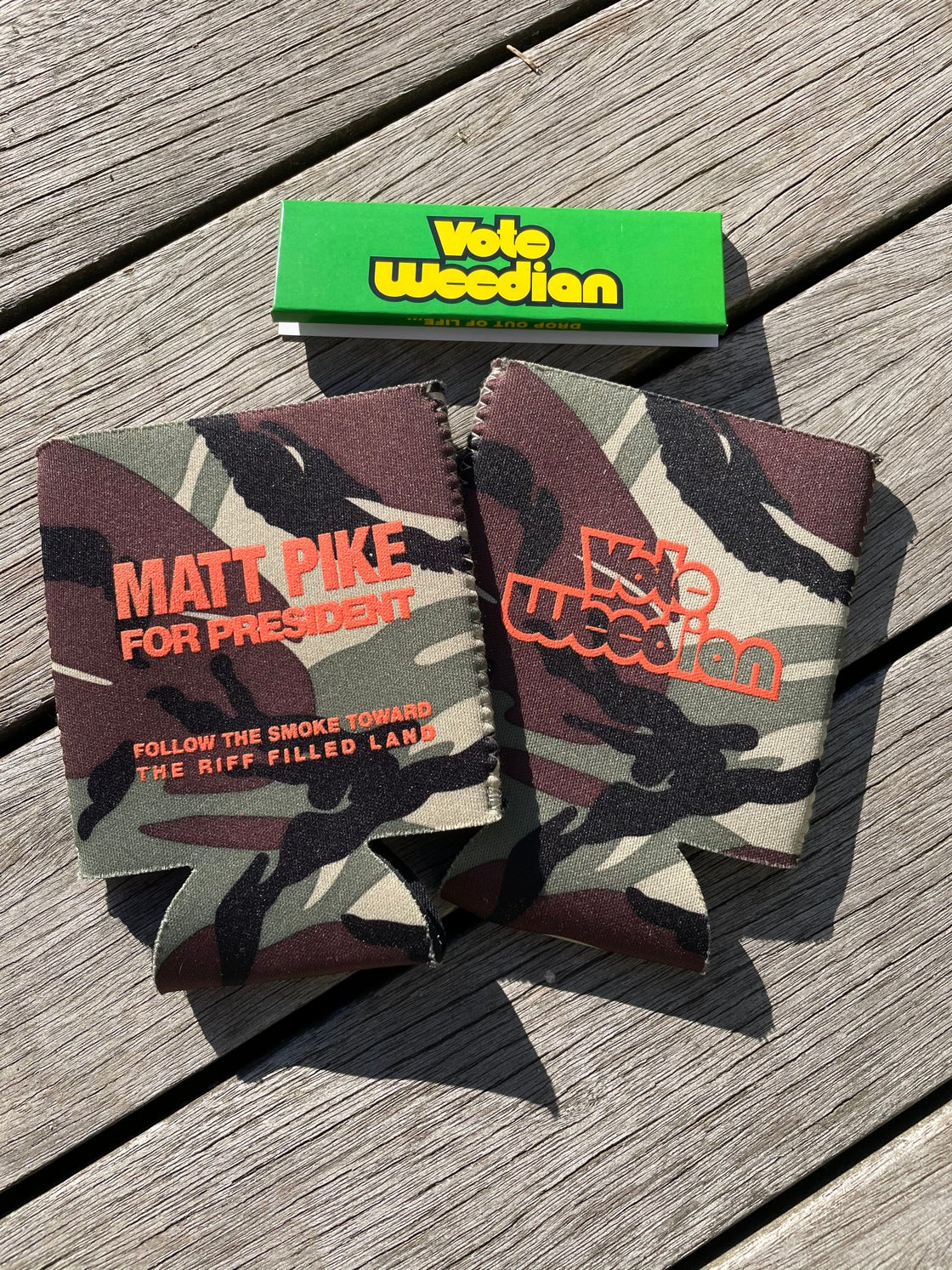 Image of SPECIAL - Camo Koozie and Papers