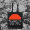 LANKUM 'We Always Sing' Orange Moon Tote Bag