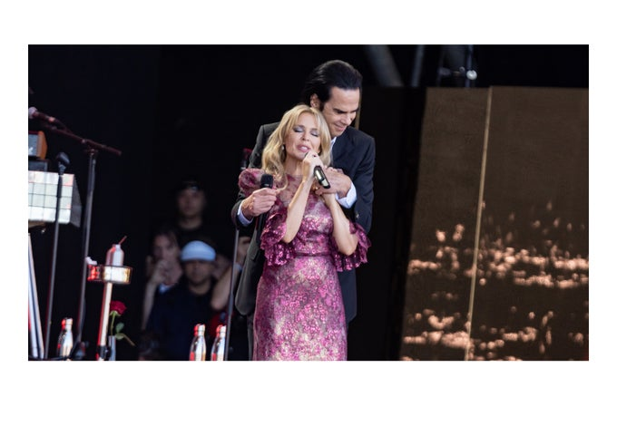 Image of Kylie & Nick Cave - Glastonbury Legends