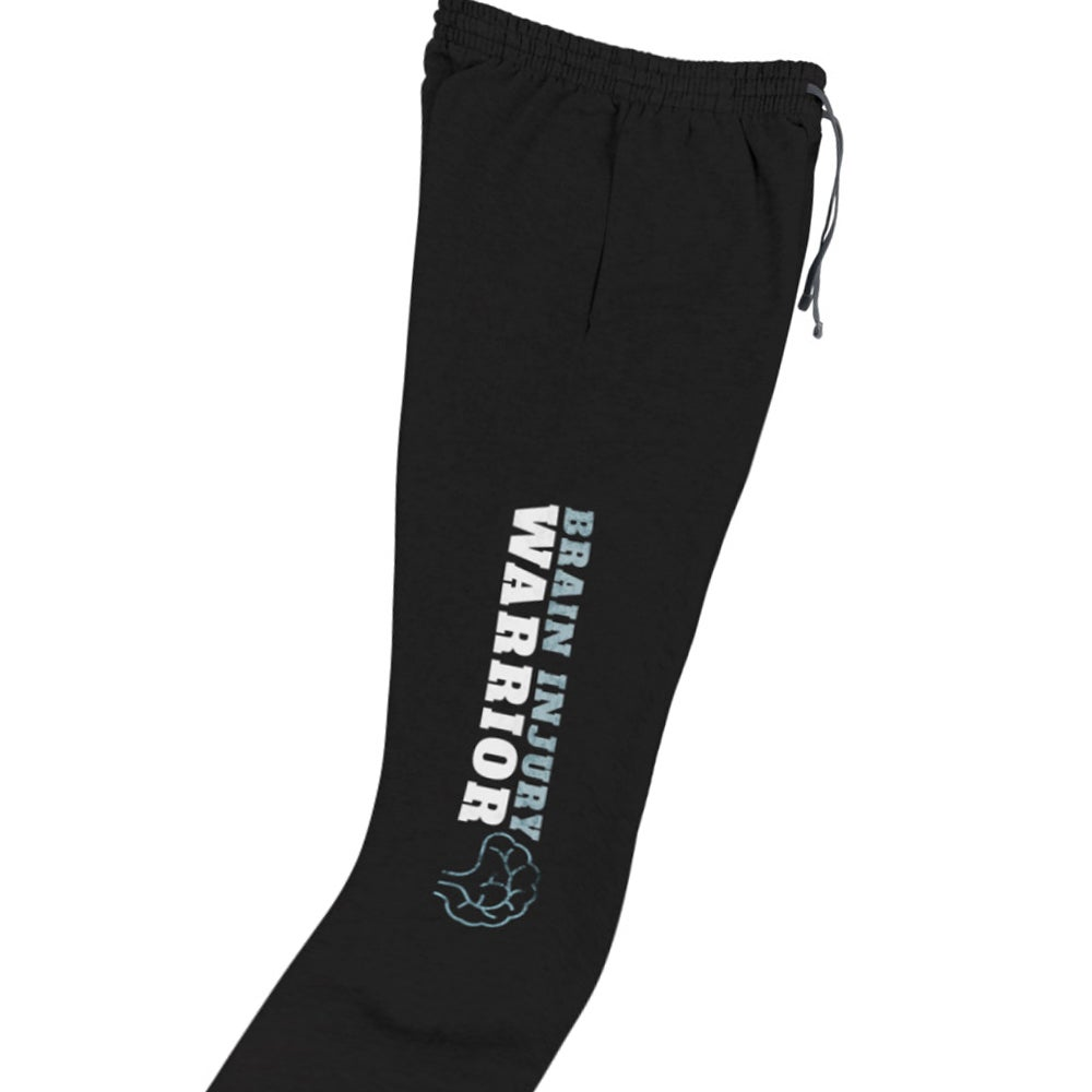 Image of Brain Injury Warrior - Sweatpants (Black)