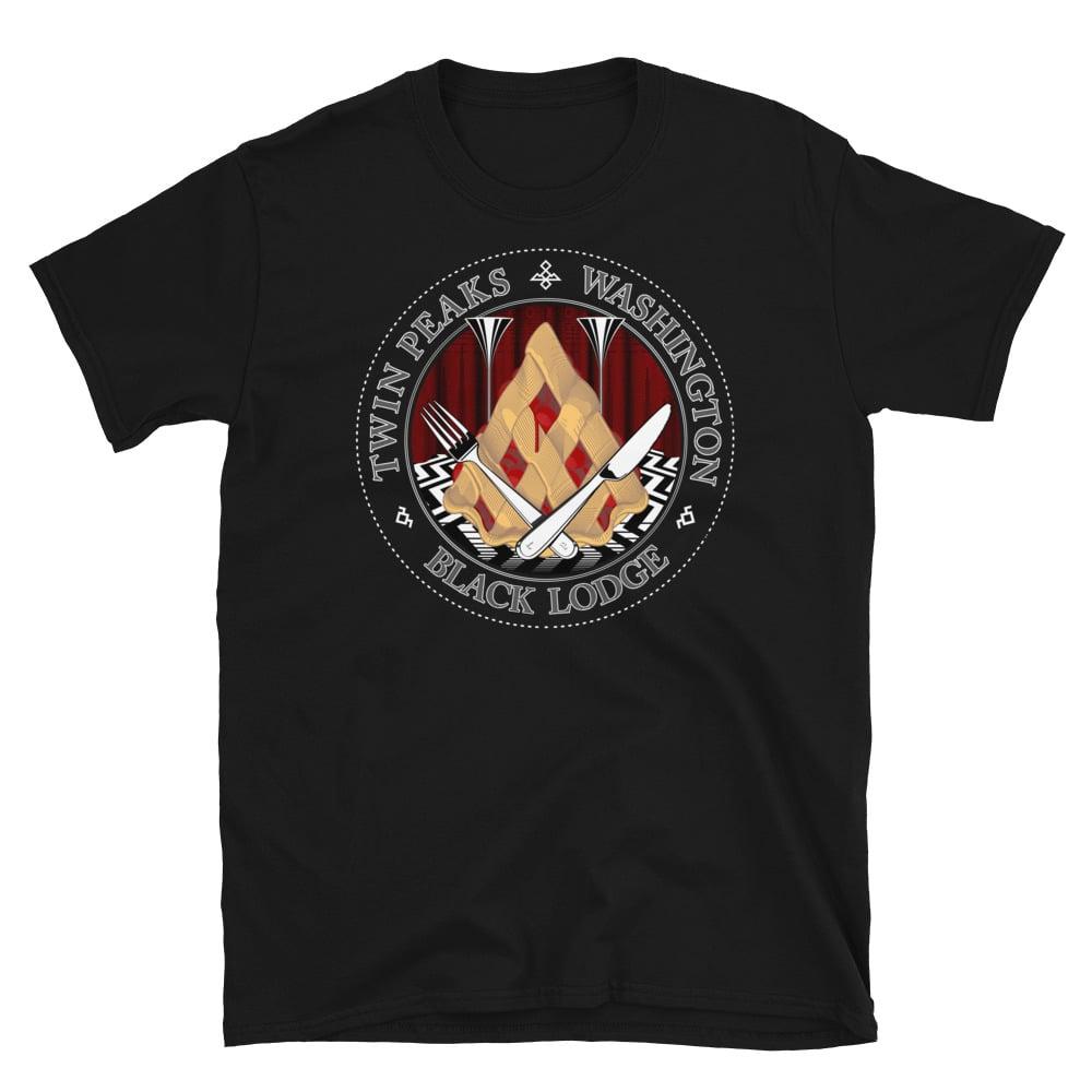 Image of Black Lodge, Short-Sleeve Unisex T-Shirt