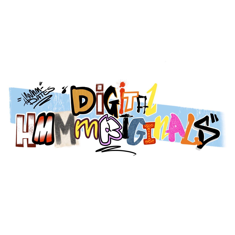 Image of Digital hmmmriginals (single figure only!!)