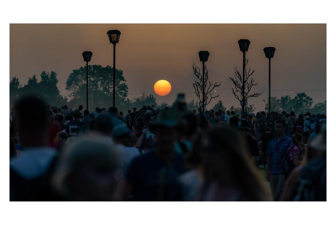Image of Glastonbury Sunset