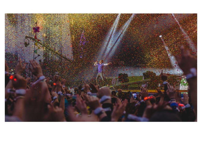 Image of Coldplay Glasto Confetti
