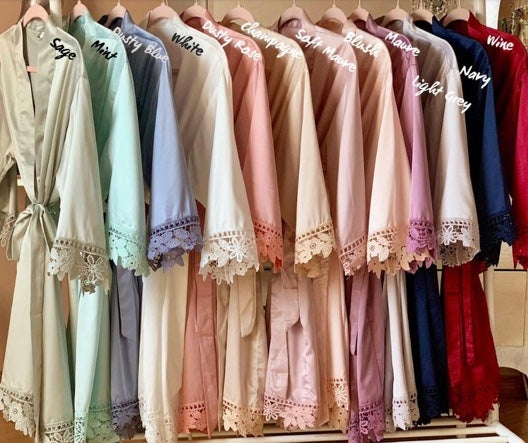 Image of #TheCrew Bridal Party Robes