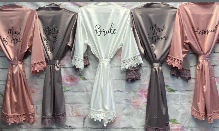 #TheCrew Bridal Party Robes