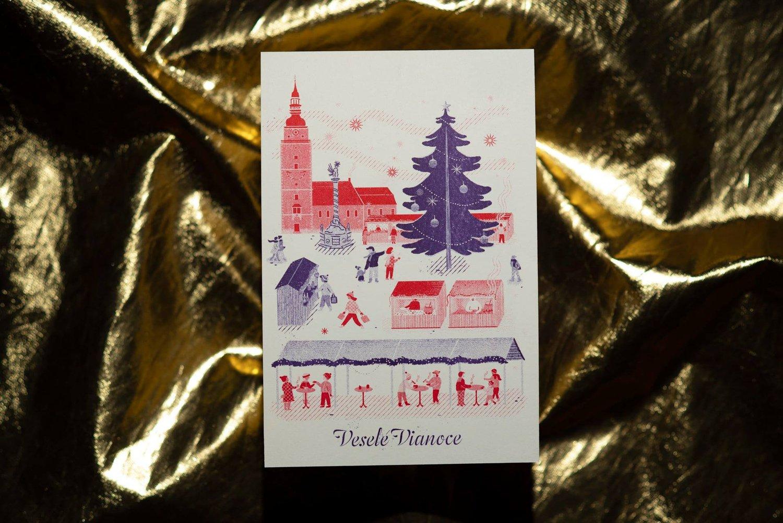Vianočná pohľadnica 2020 - Trnavský rínek