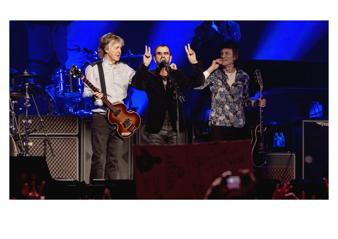 Image of Paul & Ringo & Ronnie
