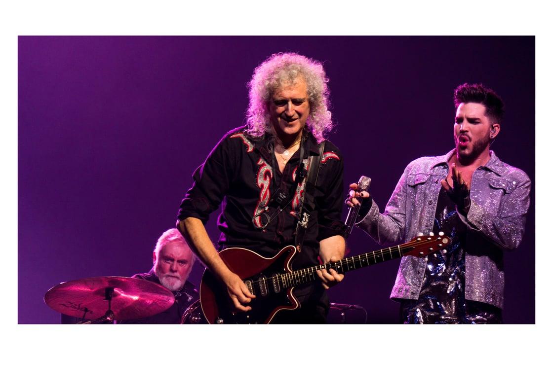 Image of Queen & Adam Lambert - THE O2