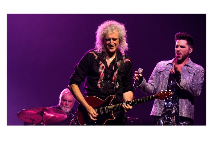 Image of Queen & Adam Lambert - THE O2