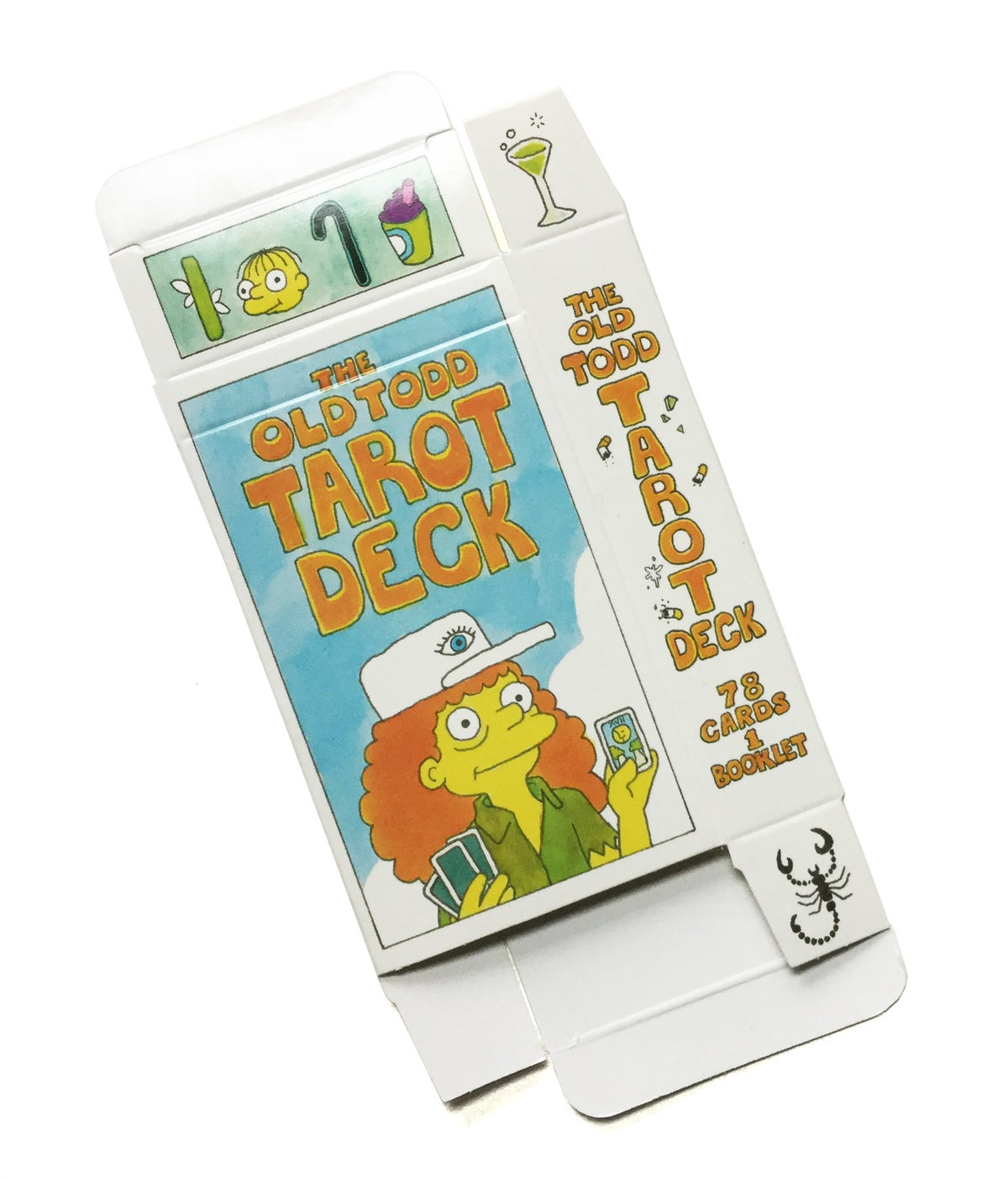 Image of Replacement Box for Old Todd Tarot Deck