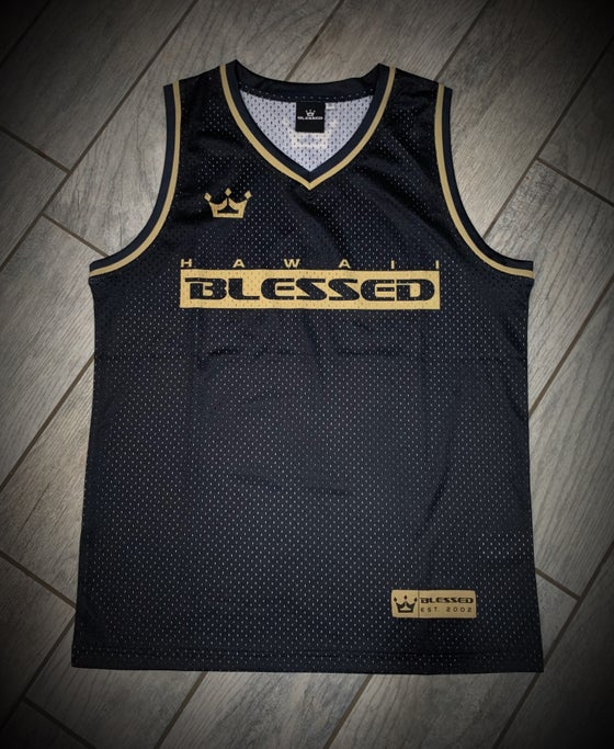Image of Black & Gold Jerseys Adult and Kids