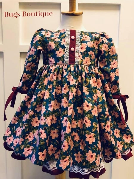 Image of Plumberry Dress     RTS size 4