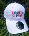 Brighter Days Cap (White and Black)