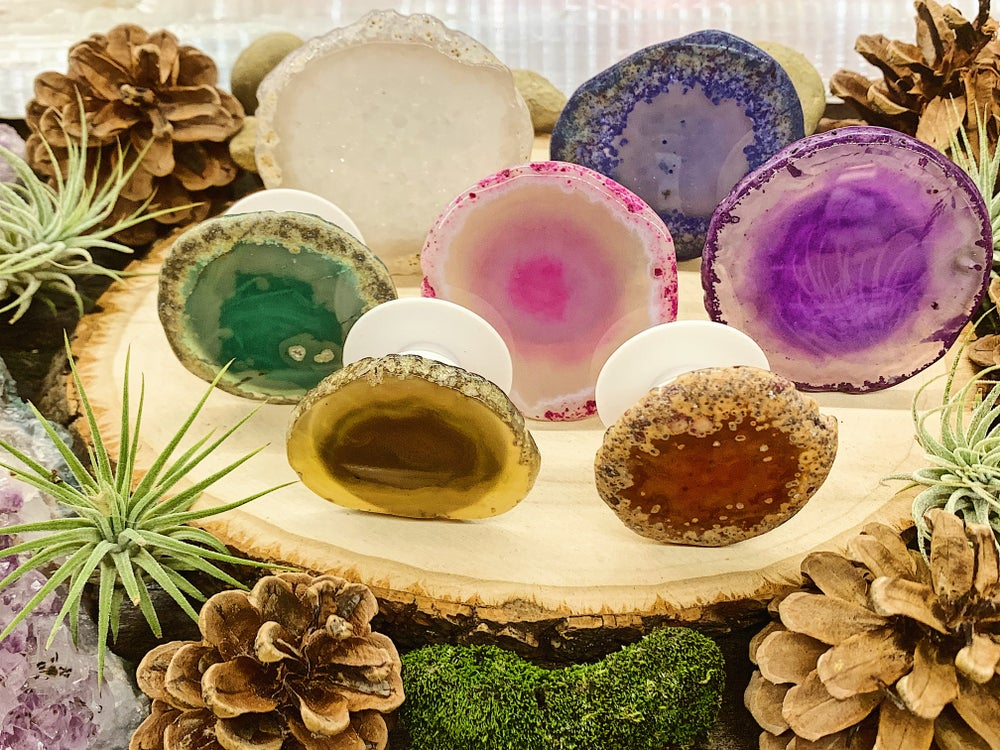 Image of Agate Pop Sockets