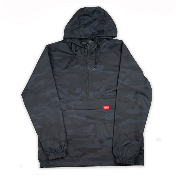 Image of Tigatu Anorak Jacket - Black Camo
