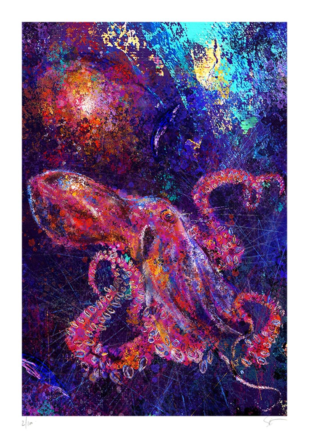Octopus  Giclée Art Print