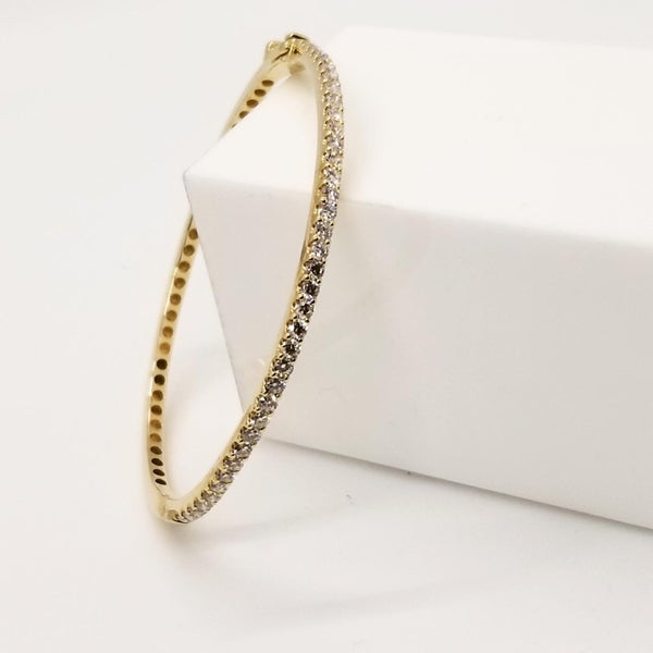 Image of Gold and Diamond Bracelet