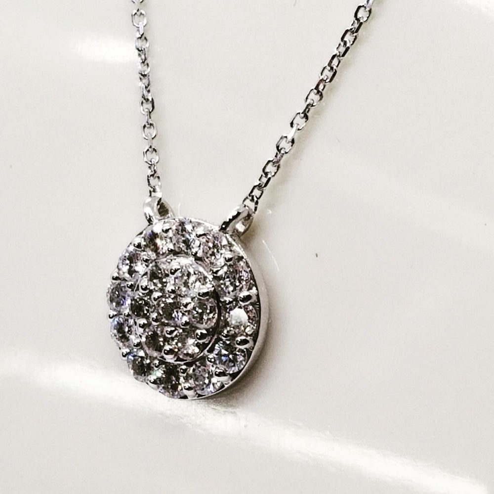 Image of Diamond Cluster Pendant