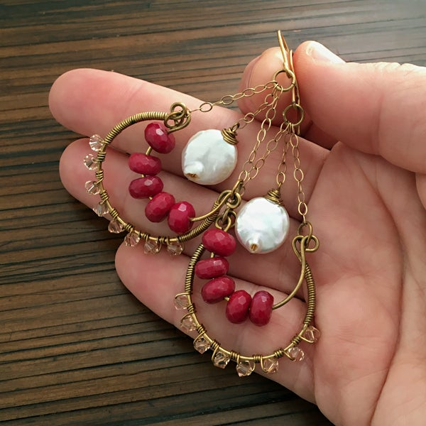 Image of Bold and Beautiful Earrings - 2 Options