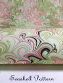 Marbled Paper Pearl White II
