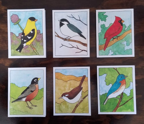 Image of Birds of All Seasons Card Set 6