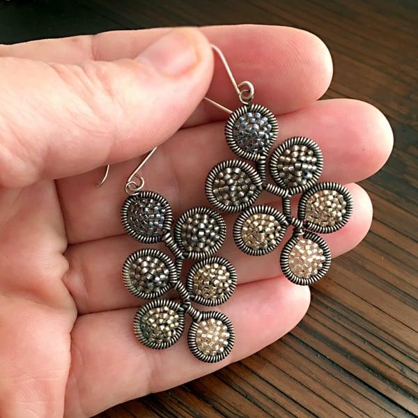 Image of 6 dot Earrings in Twilight