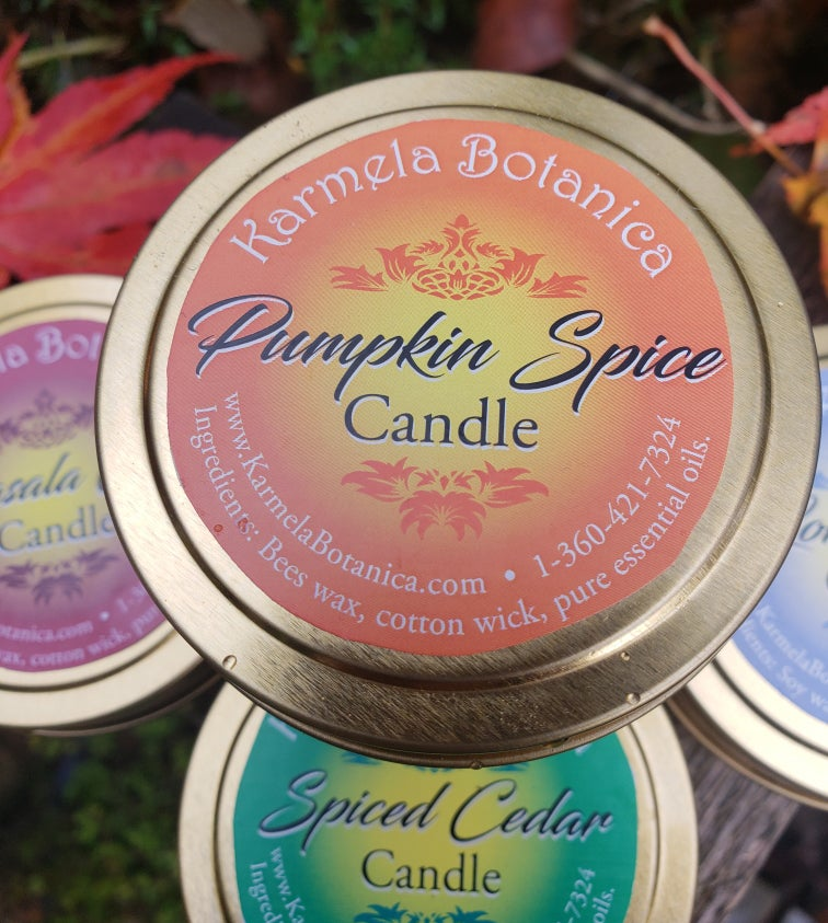 Image of Pumpkin Spice Candle Tin