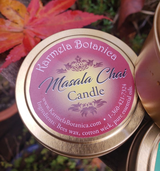 Image of Masala Chai Candle Tin