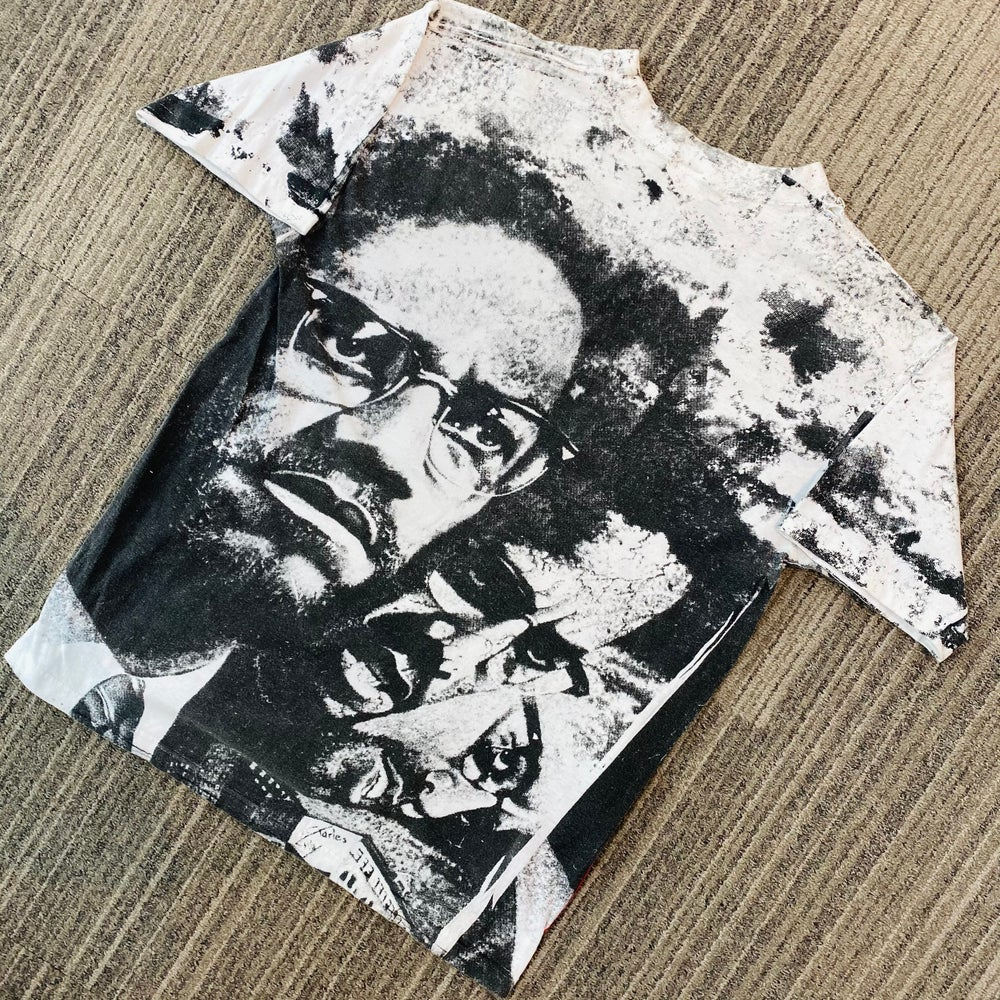 Image of Vintage Malcolm X Double Sided Tee