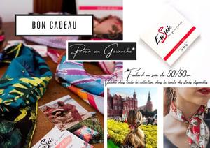 Image of Bon cadeau pour un foulard en soie !
