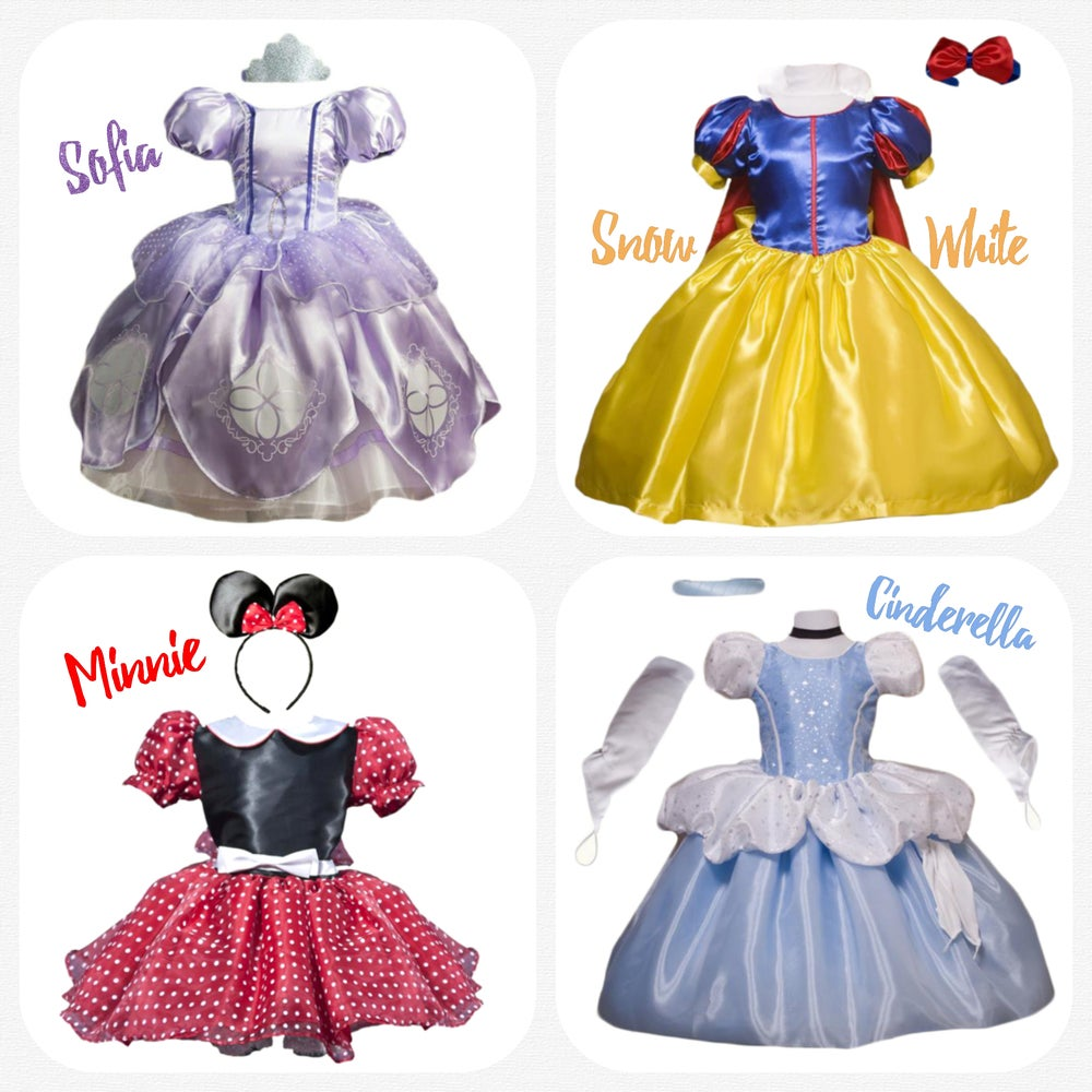 Image of Princess Dress - email for availability