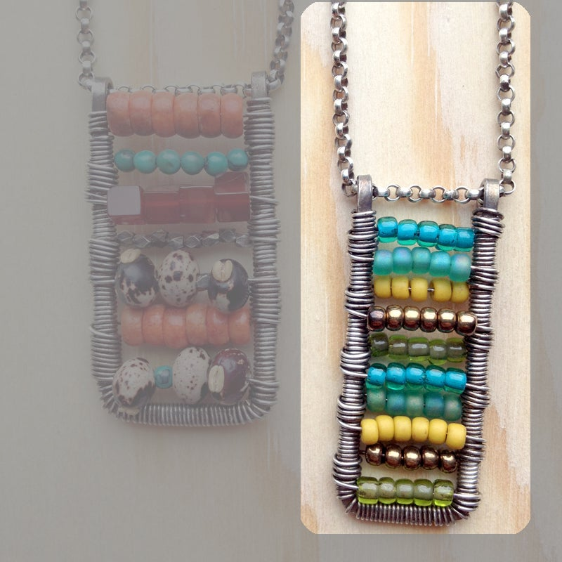 Image of Abacus Pendant