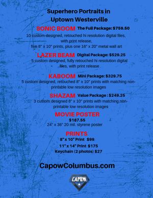 Image of Capow! Columbus Superhero Portrait Experience Saturday, March 13, 2021
