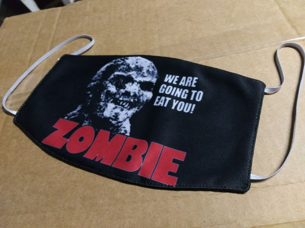 Zombie Movie Facemask *IMPORT*