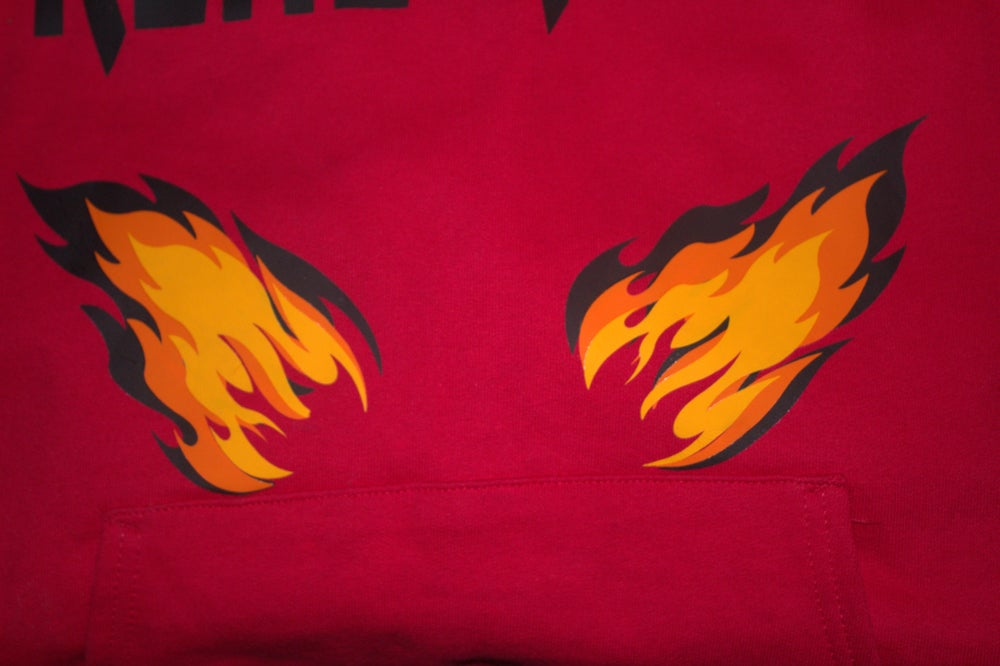 Super Limited Edition: RR x DF Flamed Up Hoody