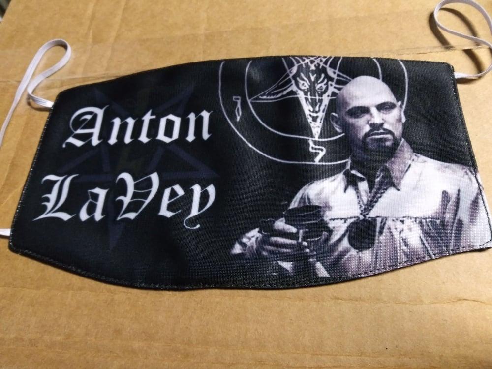 Anton LaVey Facemask *IMPORT*