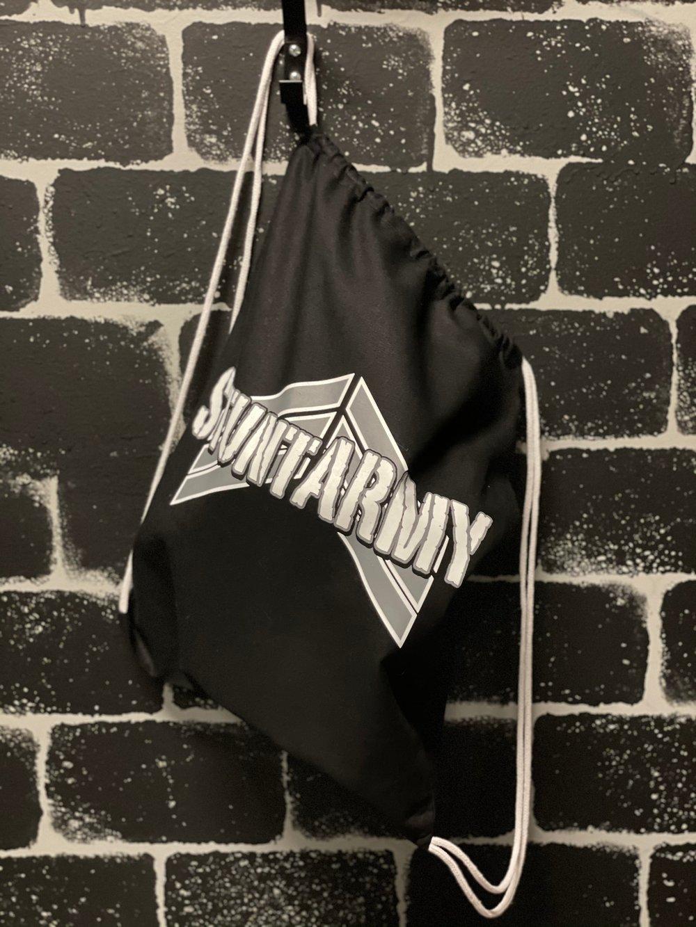 Image of Standard logo Drawstring bag