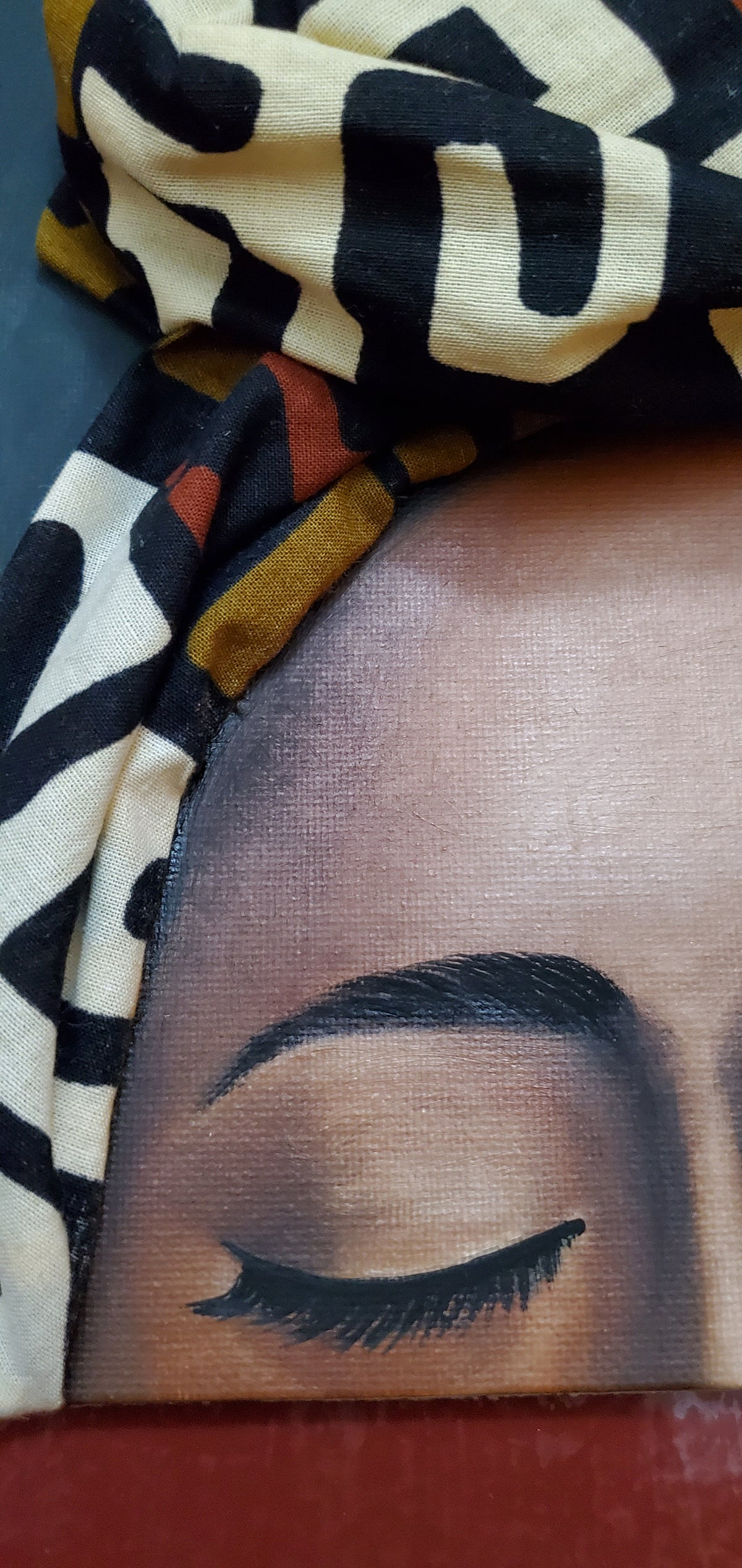 Image of Serenity Headwrap Painting #5D