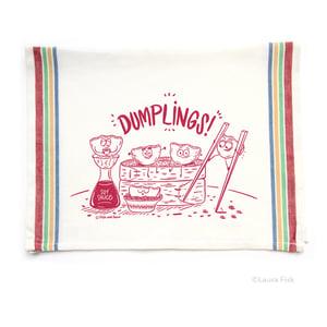 Image of Dumplings Funny Food Tea Towel