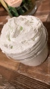 Cucumber melon whipped body soap